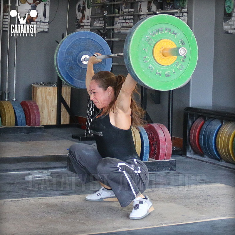 Jocelyn snatch - Olympic Weightlifting, strength, conditioning, fitness, nutrition - Catalyst Athletics