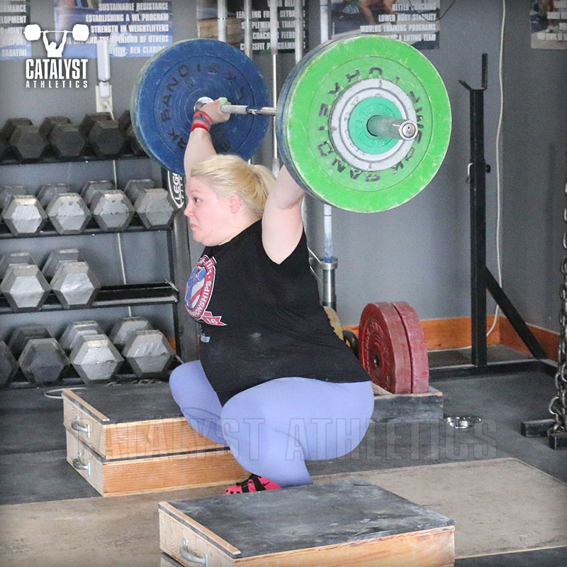 Katlin snatch - Olympic Weightlifting, strength, conditioning, fitness, nutrition - Catalyst Athletics