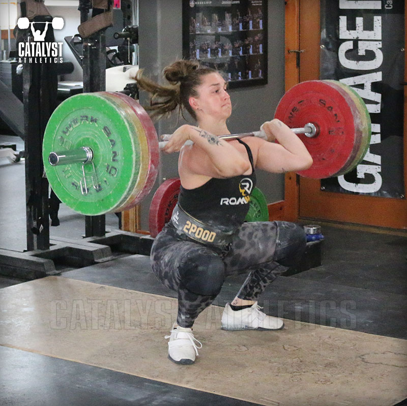 Mattie clean - Olympic Weightlifting, strength, conditioning, fitness, nutrition - Catalyst Athletics
