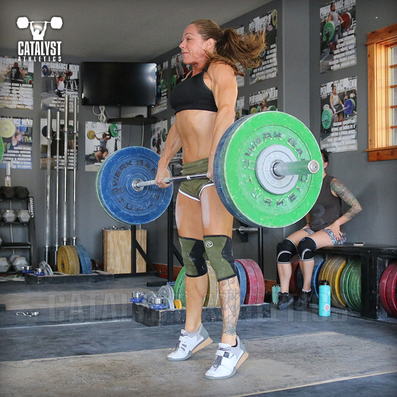 Jocelyn clean pull - Olympic Weightlifting, strength, conditioning, fitness, nutrition - Catalyst Athletics