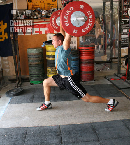Josh Everett - Split snatch - Olympic Weightlifting, strength, conditioning, fitness, nutrition - Catalyst Athletics