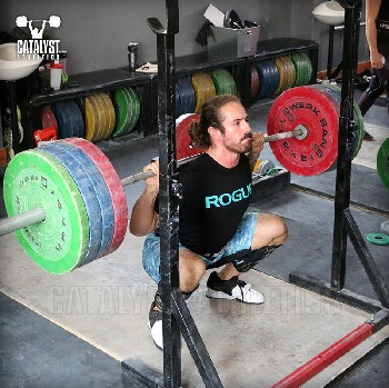 Christian back squat