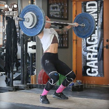Monday August 19 2019: Olympic Weightlifting Workouts