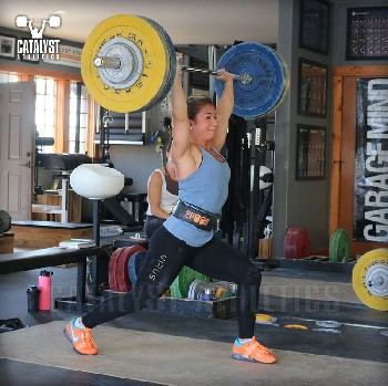 Nicole jerk - Olympic Weightlifting, strength, conditioning, fitness, nutrition - Catalyst Athletics