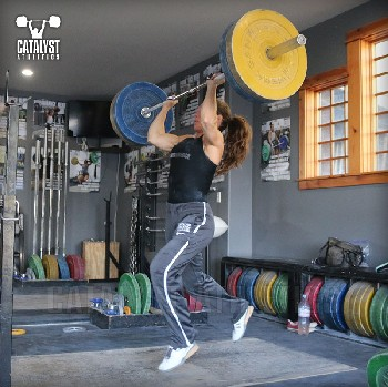 Jocelyn jerk - Olympic Weightlifting, strength, conditioning, fitness, nutrition - Catalyst Athletics