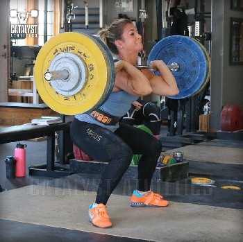 Nicole clean - Olympic Weightlifting, strength, conditioning, fitness, nutrition - Catalyst Athletics