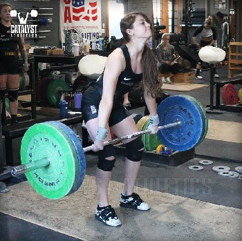 Rachel clean - Olympic Weightlifting, strength, conditioning, fitness, nutrition - Catalyst Athletics