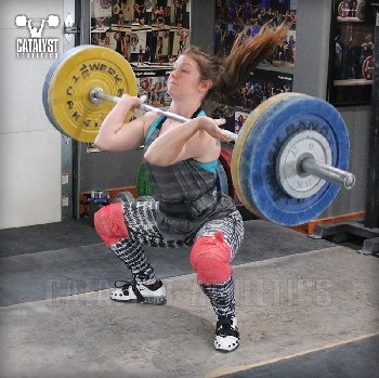Lindsay clean - Olympic Weightlifting, strength, conditioning, fitness, nutrition - Catalyst Athletics