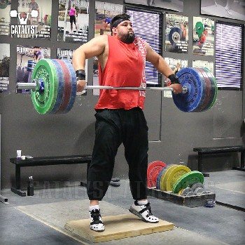 Brian snatch high-pull on riser - Olympic Weightlifting, strength, conditioning, fitness, nutrition - Catalyst Athletics
