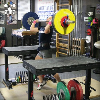 Alyssa jerk - Olympic Weightlifting, strength, conditioning, fitness, nutrition - Catalyst Athletics