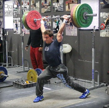 Jason jerk - Olympic Weightlifting, strength, conditioning, fitness, nutrition - Catalyst Athletics