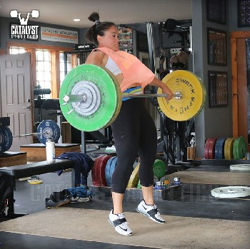 Laura snatch - Olympic Weightlifting, strength, conditioning, fitness, nutrition - Catalyst Athletics