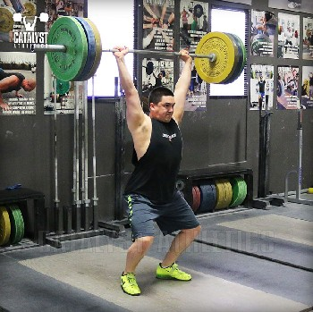 Steve power jerk - Olympic Weightlifting, strength, conditioning, fitness, nutrition - Catalyst Athletics