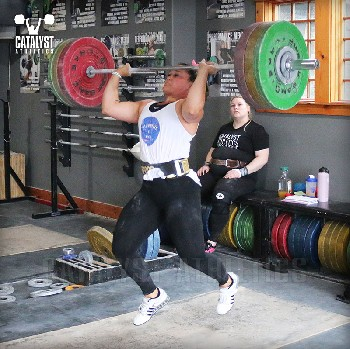 Laura jerk - Olympic Weightlifting, strength, conditioning, fitness, nutrition - Catalyst Athletics