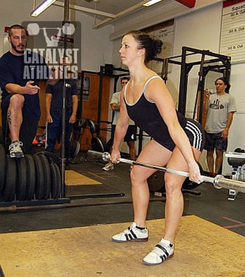 Hang position - Olympic Weightlifting, strength, conditioning, fitness, nutrition - Catalyst Athletics