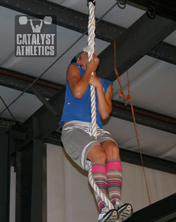 Odessa at NorCal S&C - Olympic Weightlifting, strength, conditioning, fitness, nutrition - Catalyst Athletics